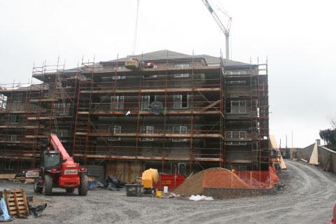 Construction underway on Park Manor