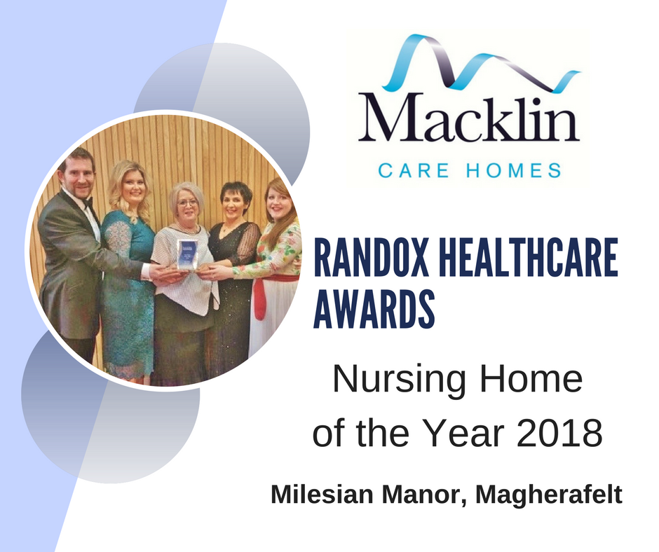Milesian Manor wins Care Home of the Year!
