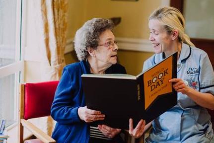World Book Day at Macklin Care Homes