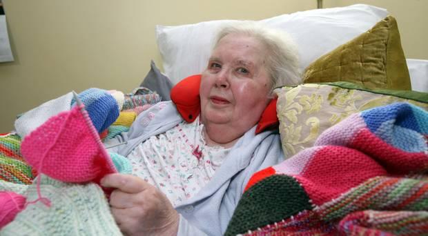 Resident Nancy, Ratheane Care Home Coleraine